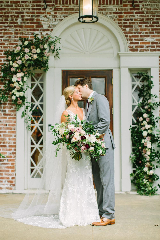 Leonard-208.jpgDusty rose, blush, and ivory bridal bouquet with lush greenery // Nashville Wedding Floral Design