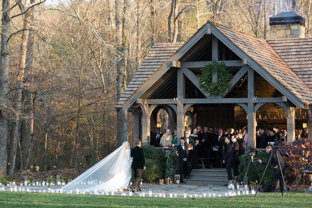 Winter Wedding at Blackberry Farm with all white and greenery florals // Southern Florist // Rosemary & Finch Floral Design