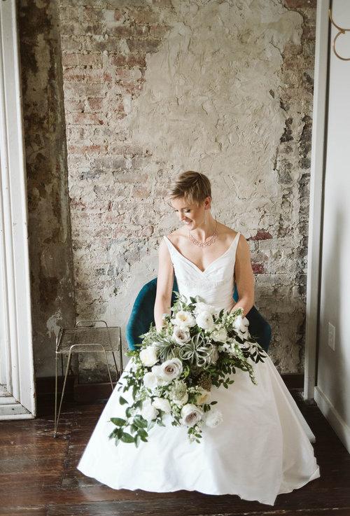 Erin Phillip Fall Wedding At The Cordelle Nashville Rosemary