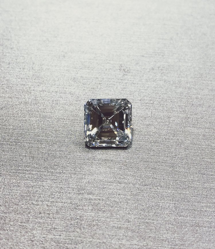 4-Carat Asscher Cut Diamond