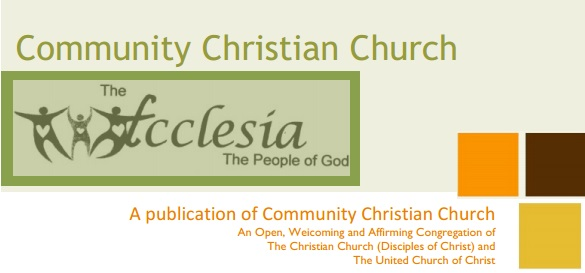 Newsletter - Click the any month below to read our monthly newsletter, the Ecclesia, for upcoming events & recent articles