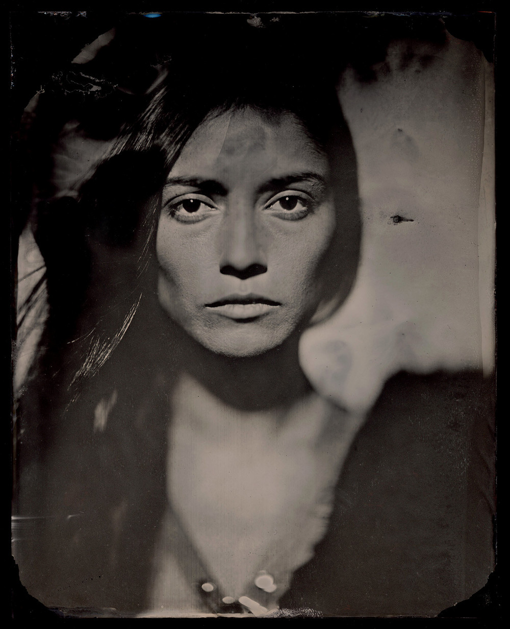 "8""x10"" Black Glass Ambrotype"