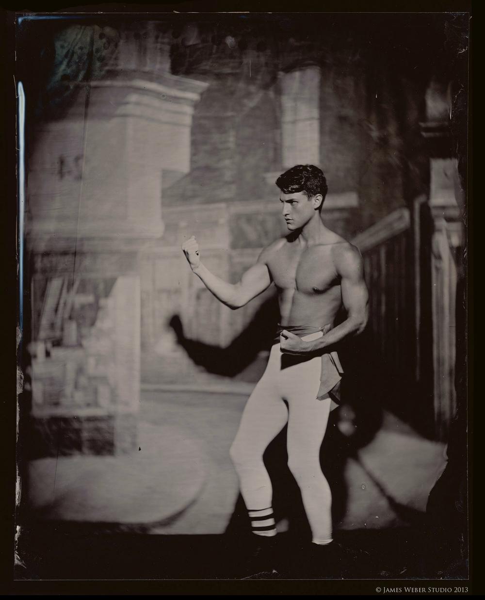 Model: Jordan @ Red NYC Tights by Capezio, Socks, Courtesy of Joan Goldberg
