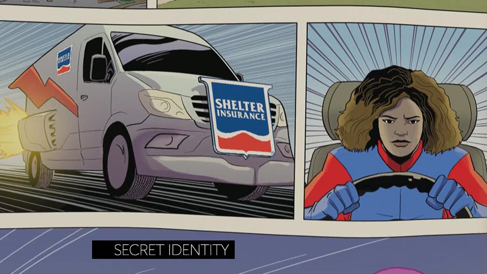 Shelter Insurance — Secret Identity
