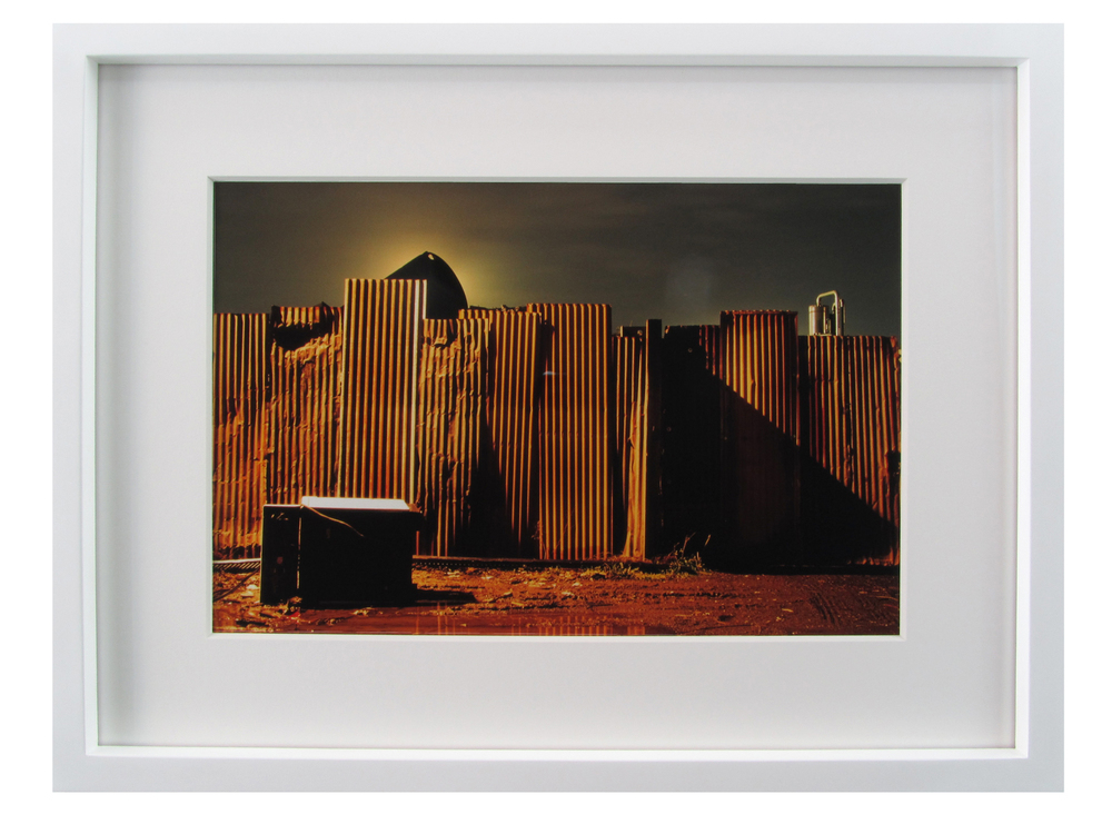 "George Ciardi ( American ) Nightrise Color Photograph ( Framed ) Frame O.D. 14 15/16"" x 19 5/8"" $1,200 ( Framed )"