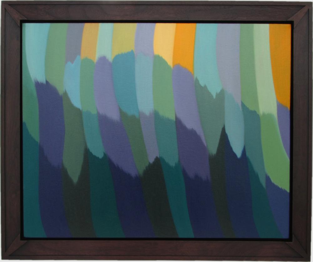 "Untitled, Distillation    Oil on Canvas, Signed on Verso  24"" x 30"" / 29"" x 35"" Framed ( Plasteel Frame )    $4,800"