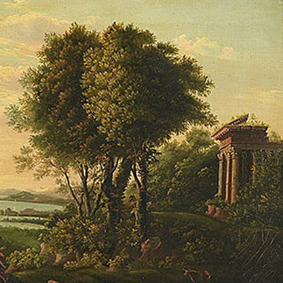 After Claude Lorrain   (French, 1600 - 1682) Available
