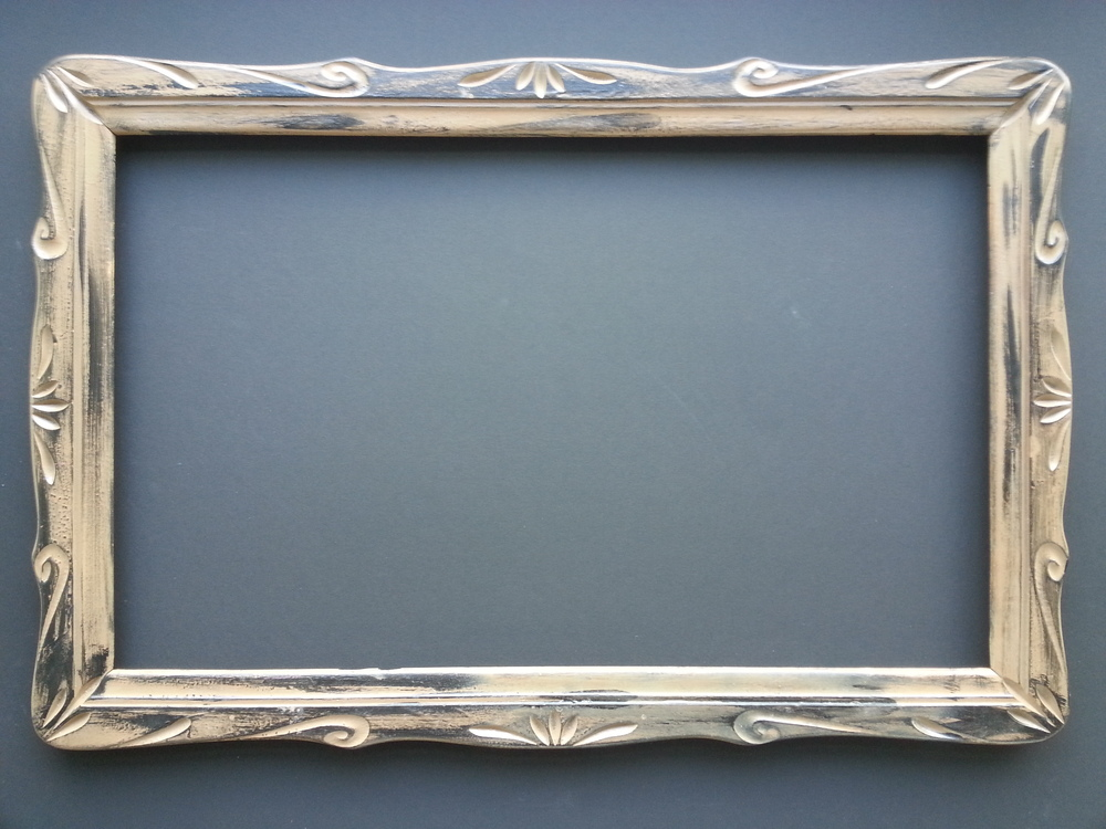 Antique American Hand Tooled Frame            SOLD