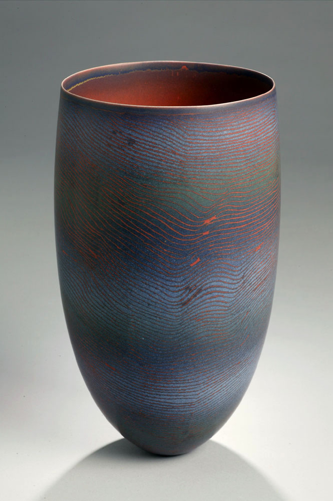 from the series Tanami Traces Porcelain with Inlay 2006 Price: $8,000