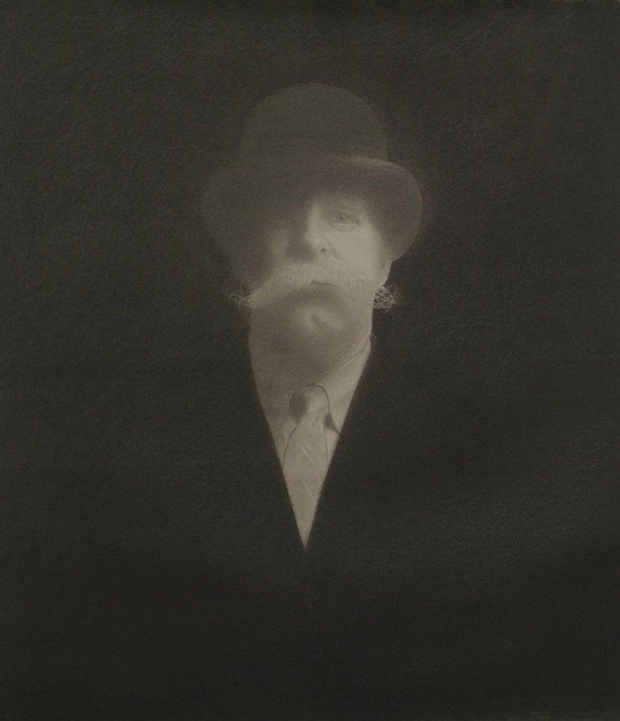 "The Detective     Graphite on Hot Press Watercolor Paper    27"" x 24""    $4,800"