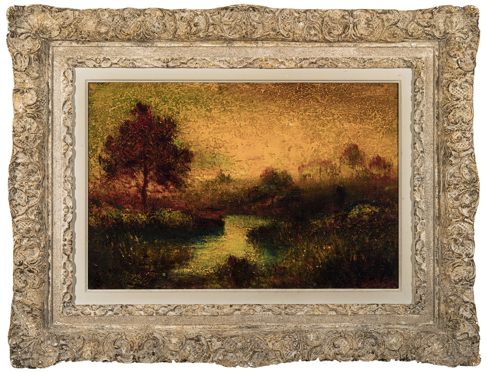 George Henry Bogert, Sunset, Framed_Full.jpg