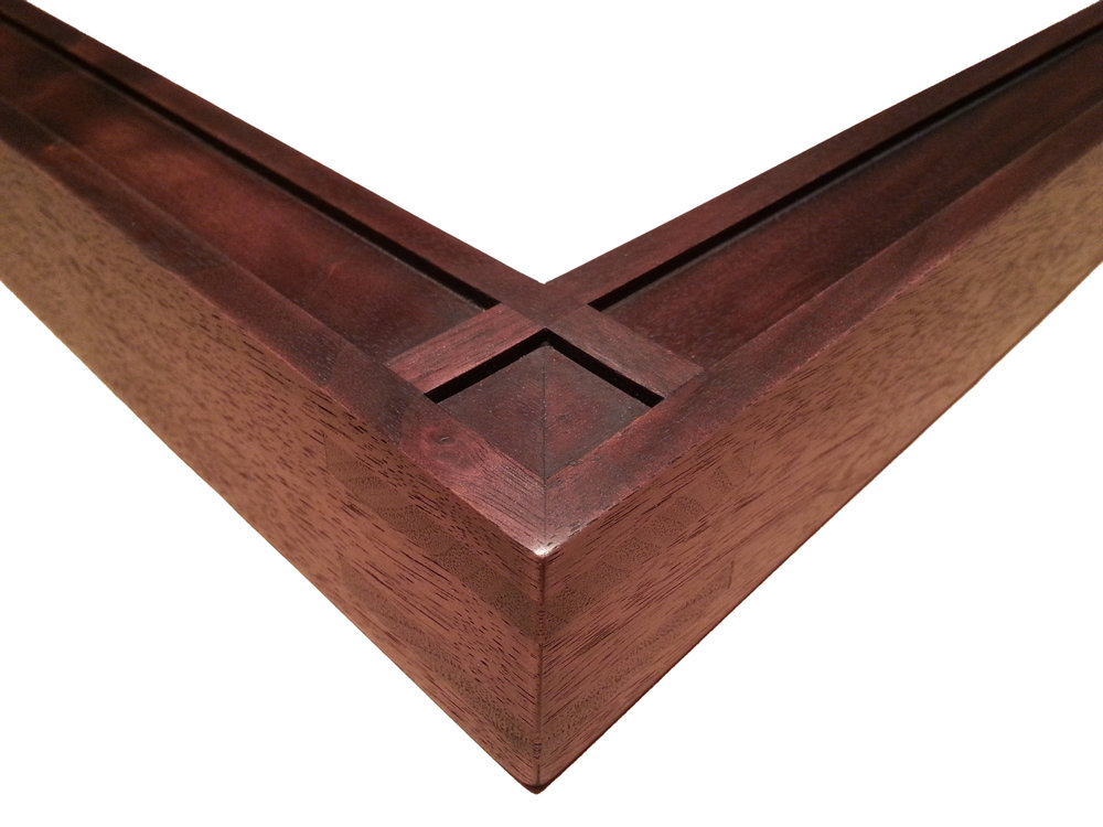 "112134 Walnut, Arts and Crafts    1 1/2"" (W) FACE x 1 3/4"" (D) DEEP O.D."
