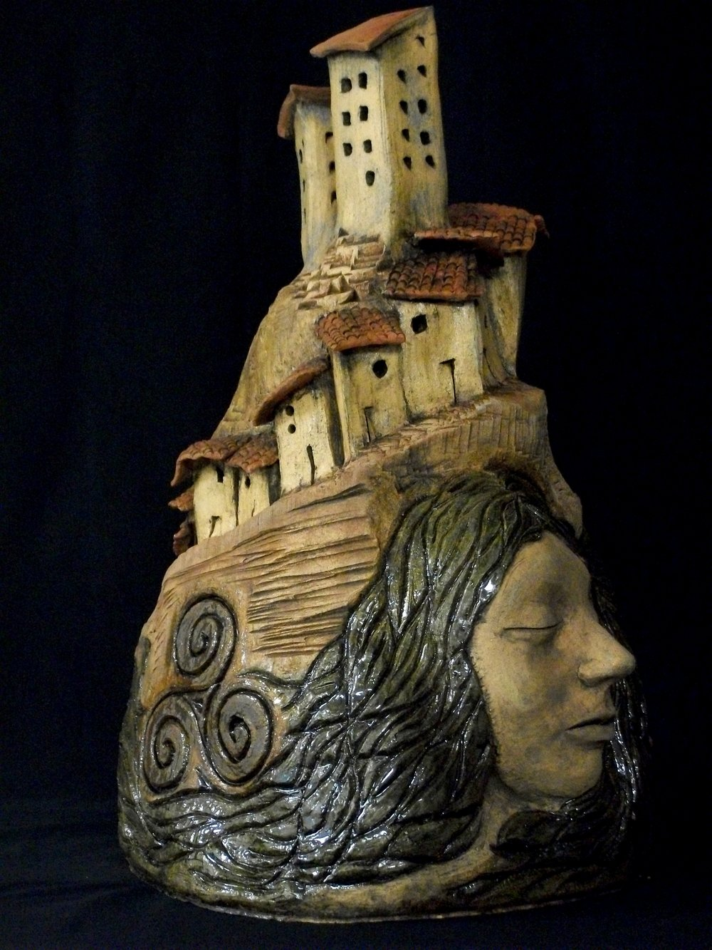 Carla San Martin  Progress  Glazed Ceramic  $2,000