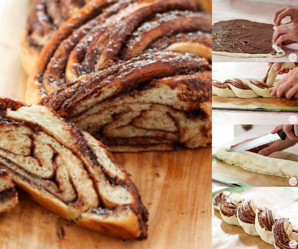 Wow, braided Nutella bread! / Photo: InspiredByCharm.com