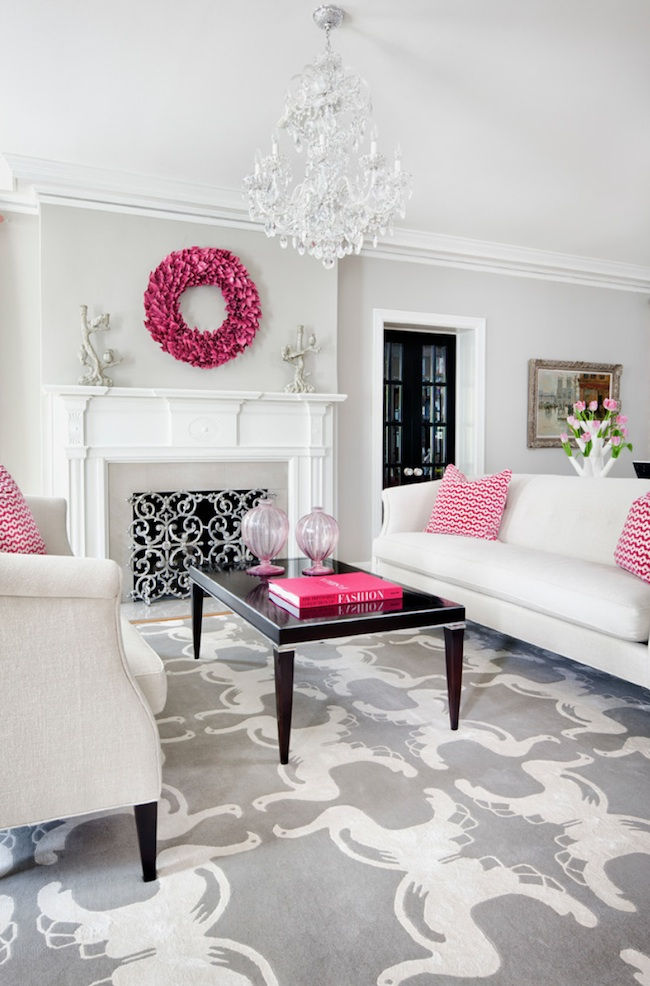 Design by Martha O'Hara Interiors