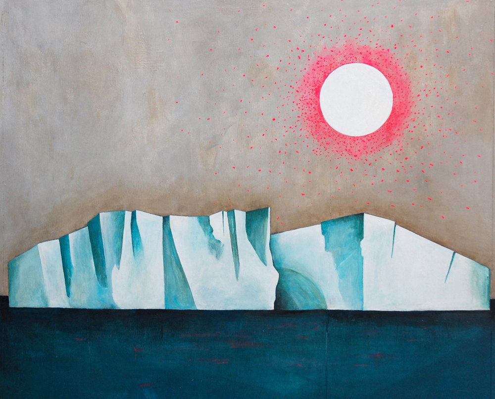 Iceberg by Lisa Congdon