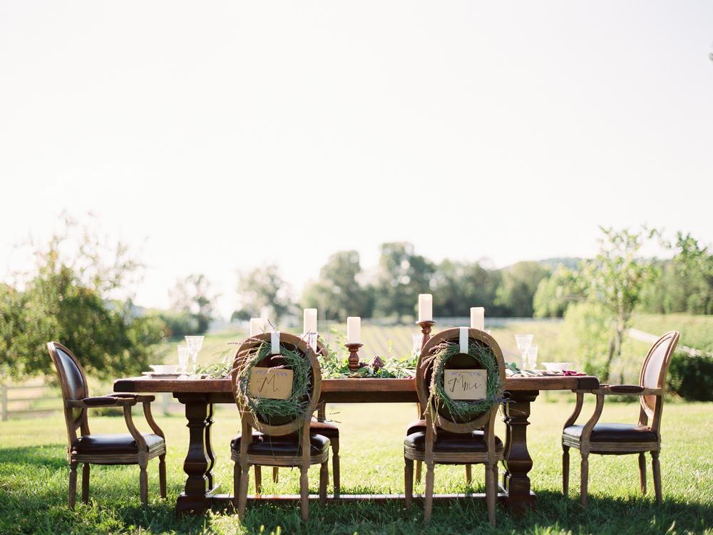 lavender-wedding-table