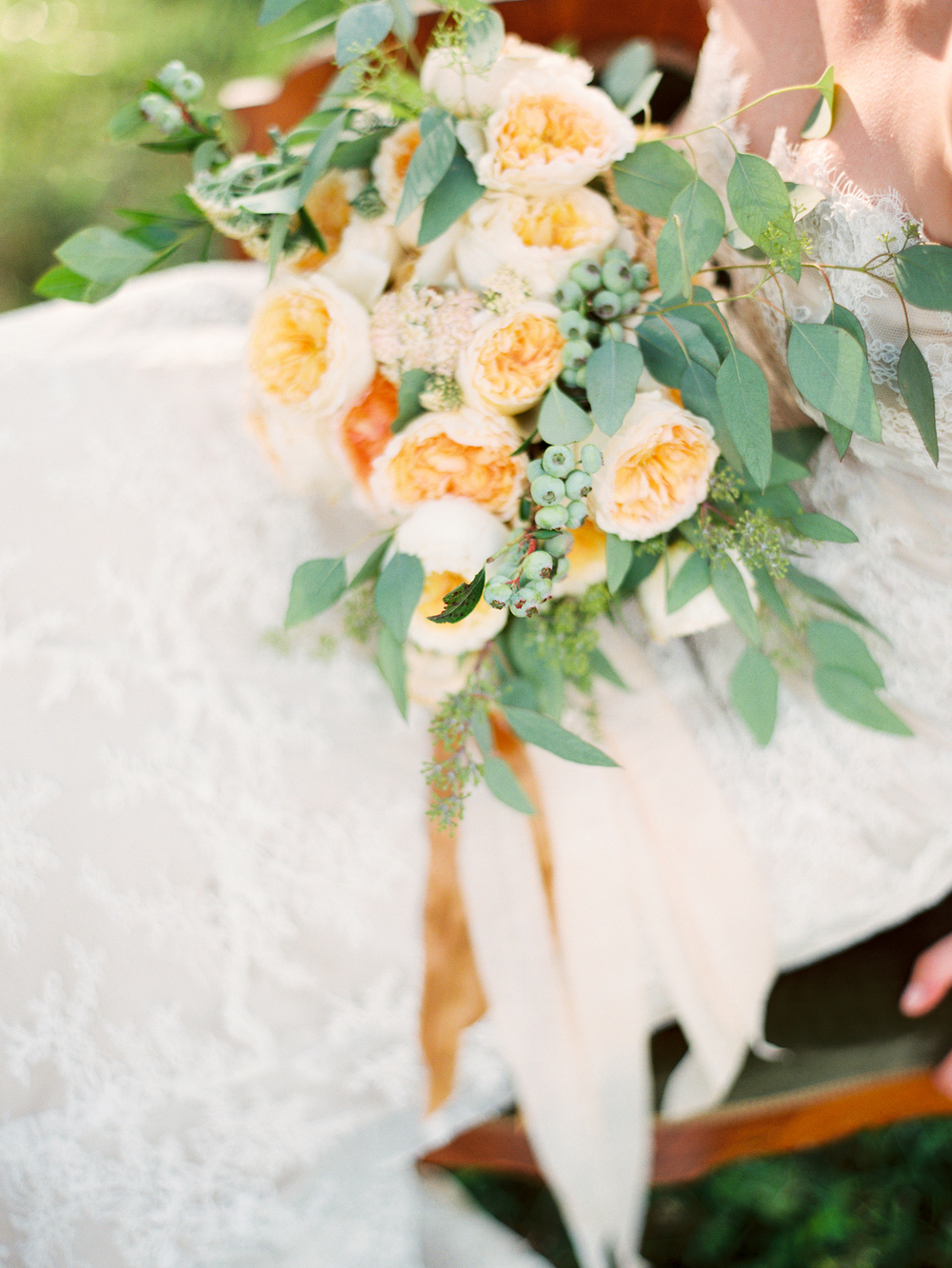 yellow-wedding-bouquet-tea-stained-ribbon