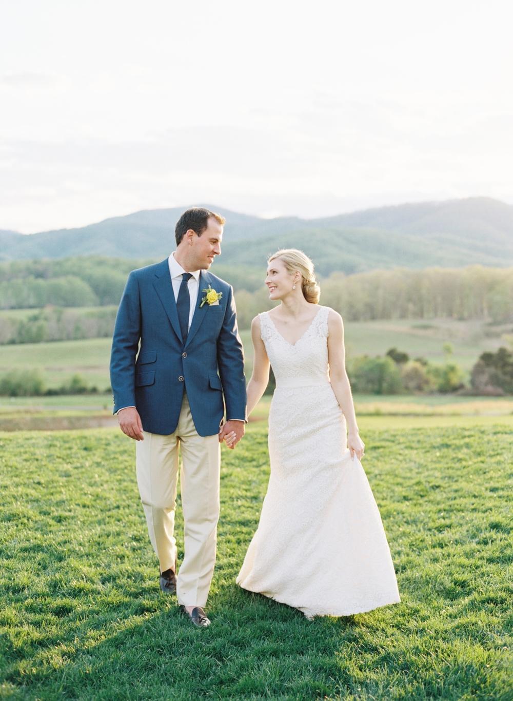blue-yellow-wedding-groom-bride-dress
