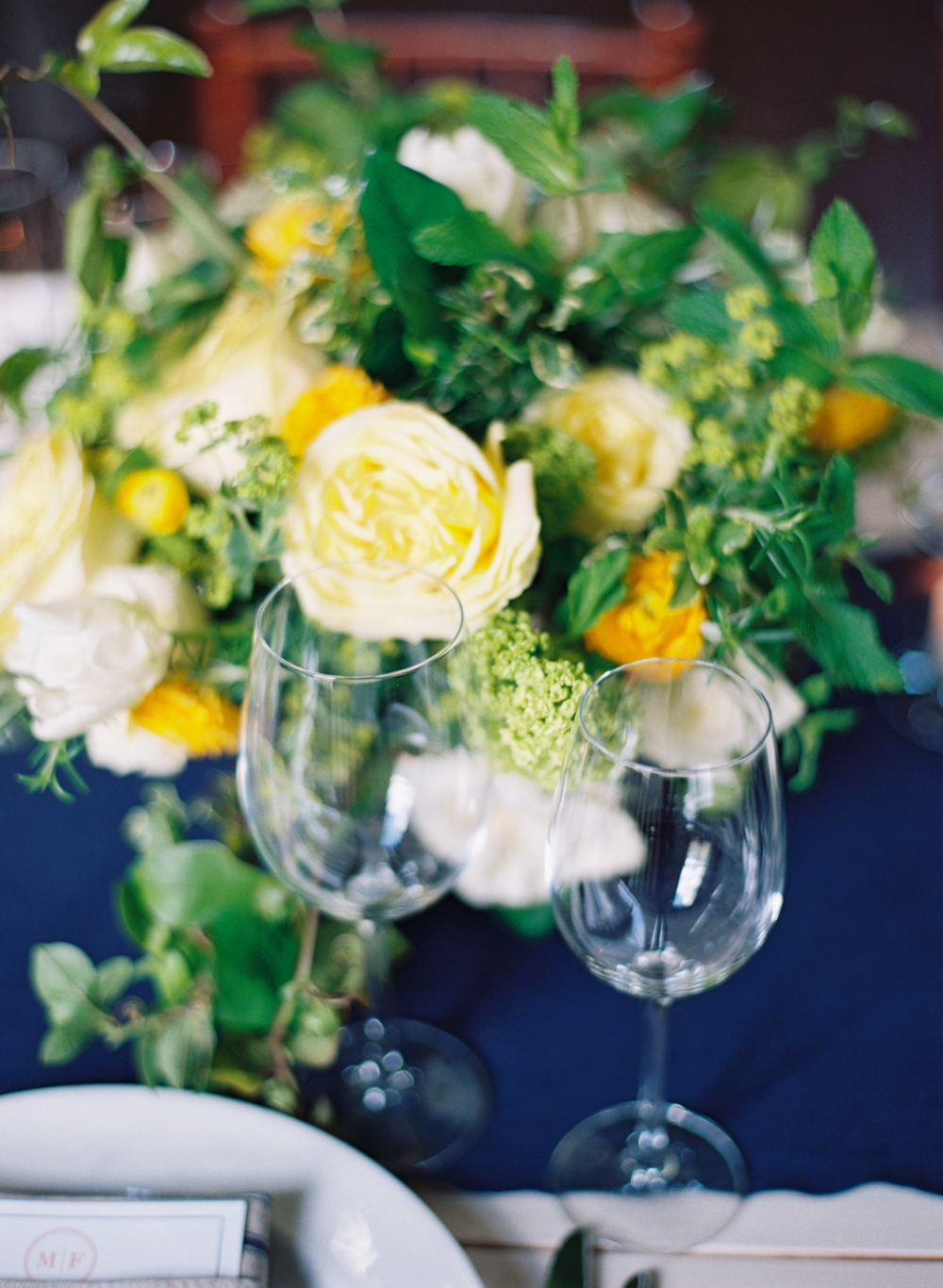 blue-yellow-green-wedding-flowers
