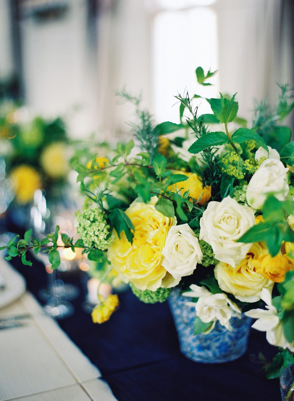 green-yellow-blue-wedding-flowers