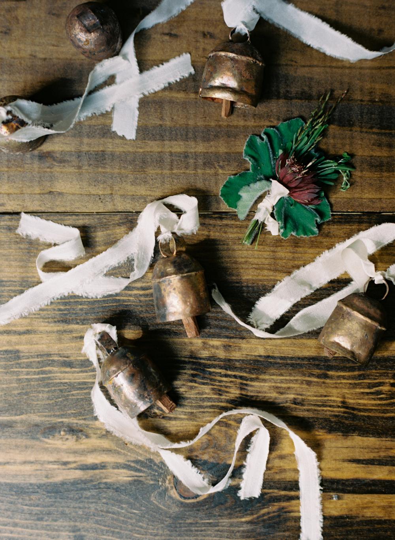 greek wedding bells styling by ginny au