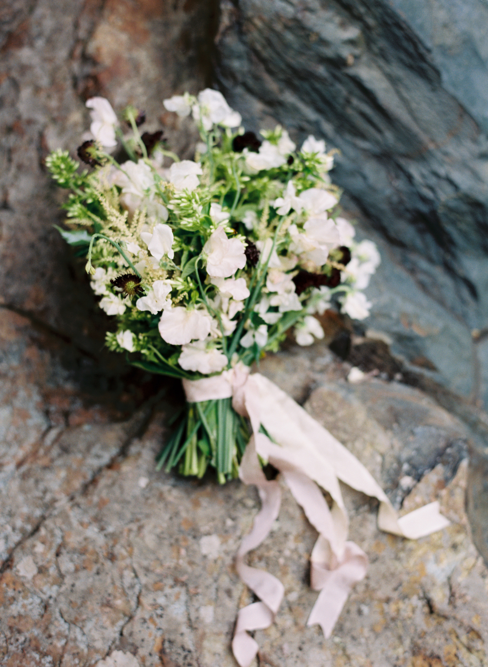 mallory joyce white wedding bouquet