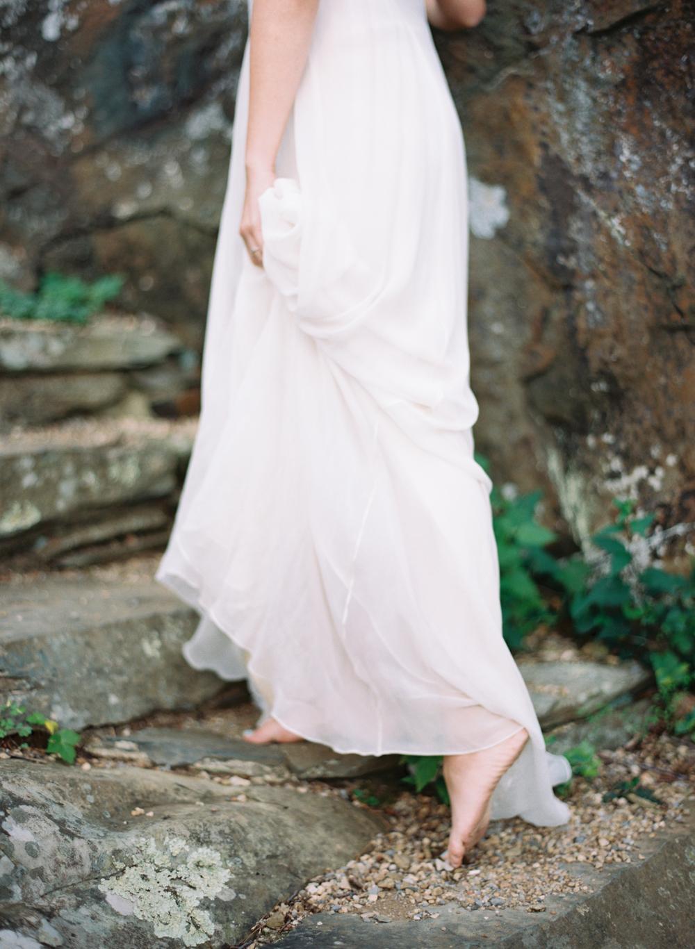 gossamer vintage wedding dress elisa bricker
