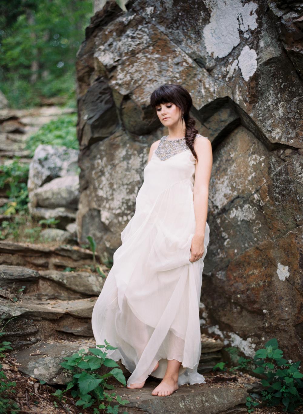 mallory joyce styling elisa bricker mountain bridal portrait