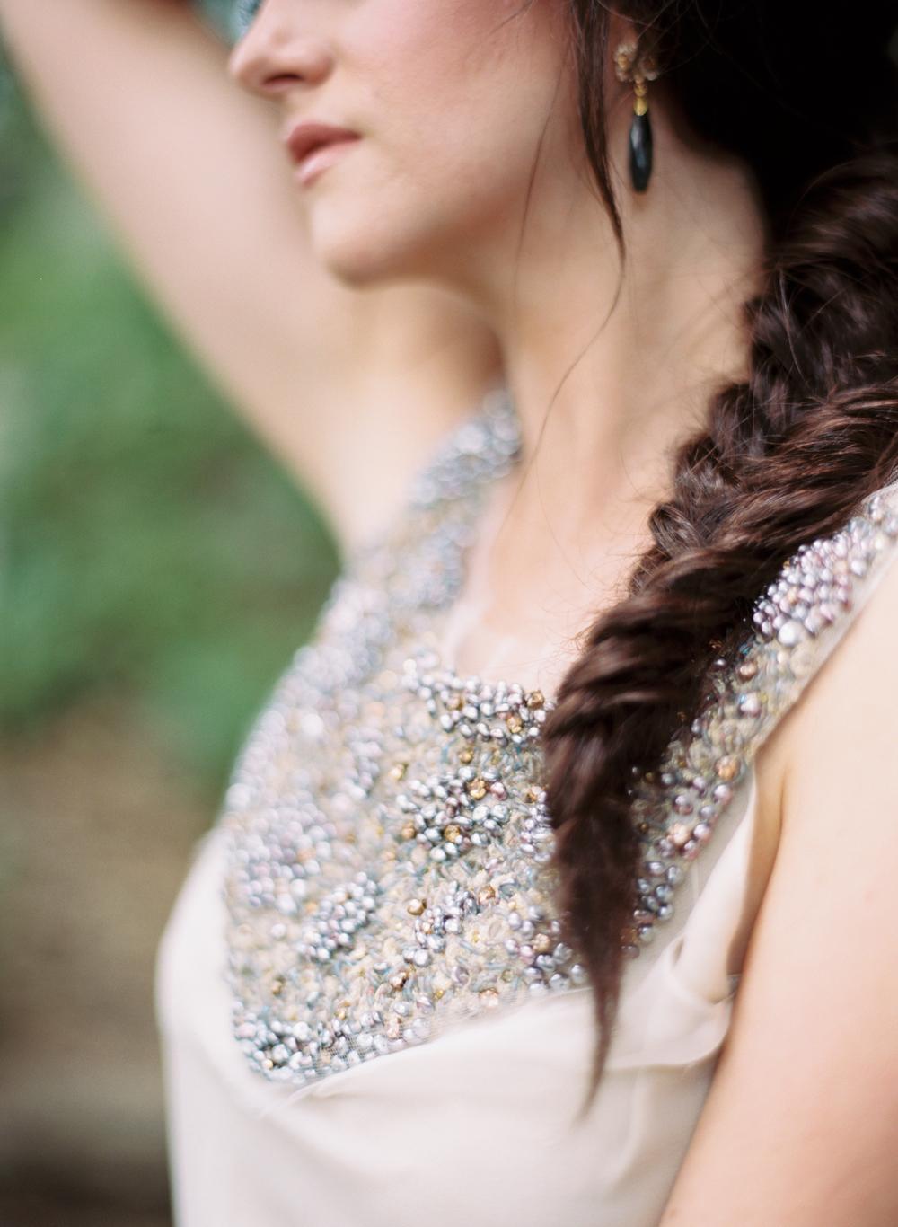 vintage gossamer wedding gown elisa bricker