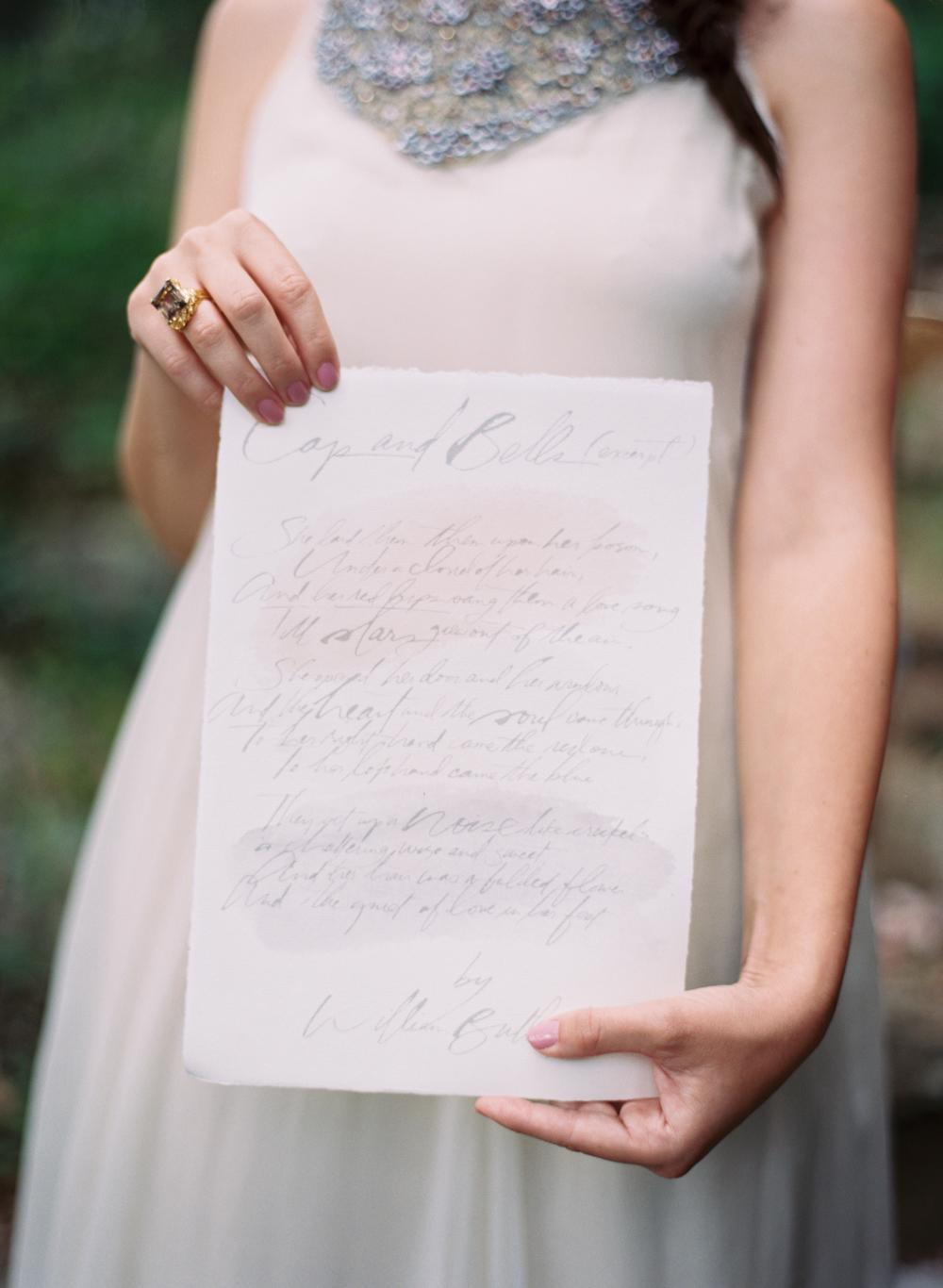 simple organic bridal portrait elisa bricker
