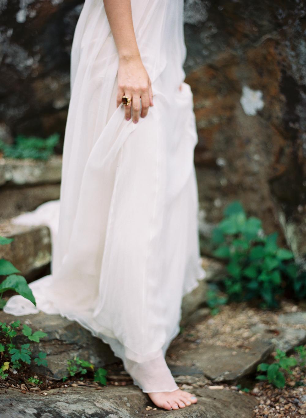 bridal portrait virginia film photographer