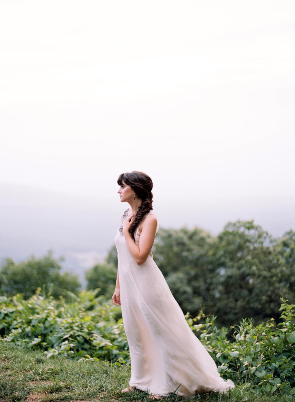 mallory joyce vintage wedding dress elisa bricker