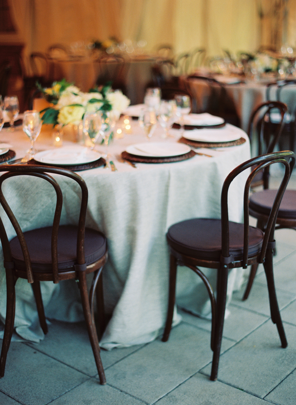 bentwood chair wedding woodend nature sanctuary