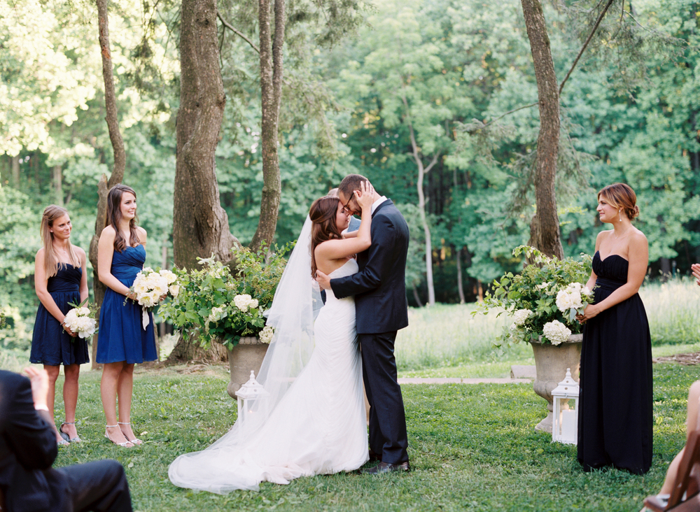 woodend nature sanctuary wedding ceremony