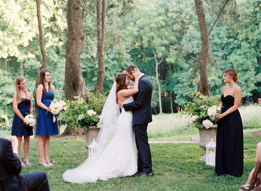 woodend nature sanctuary wedding ceremony