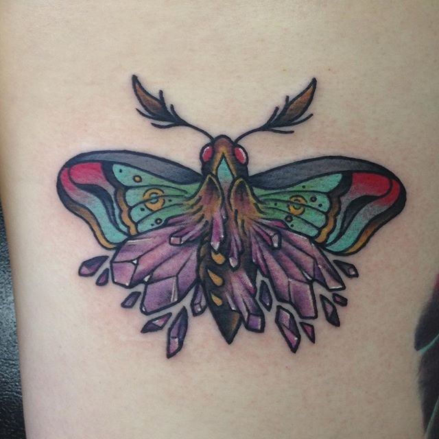 🔮Fun moth from today for @originaloctogirl thanks again!