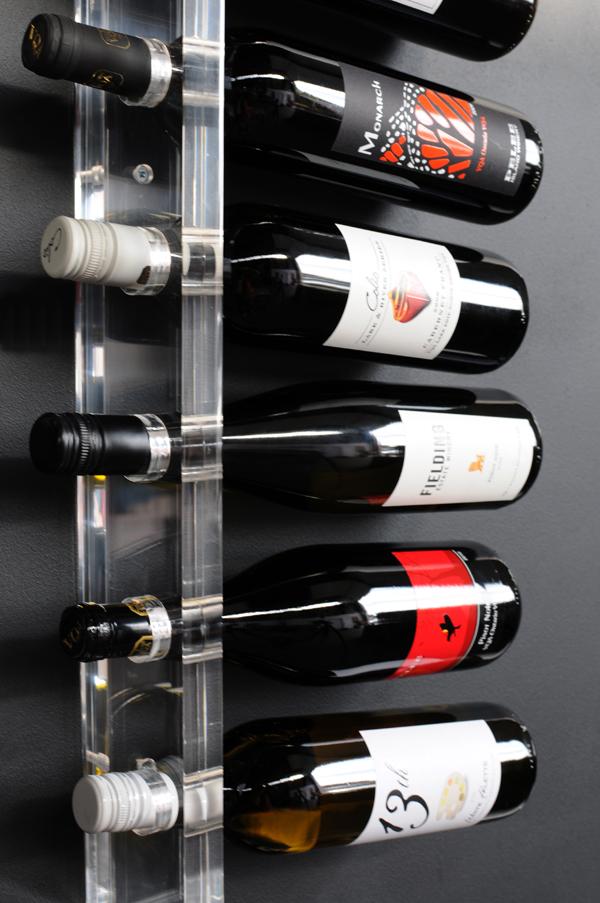 acrylic wine rack by gus