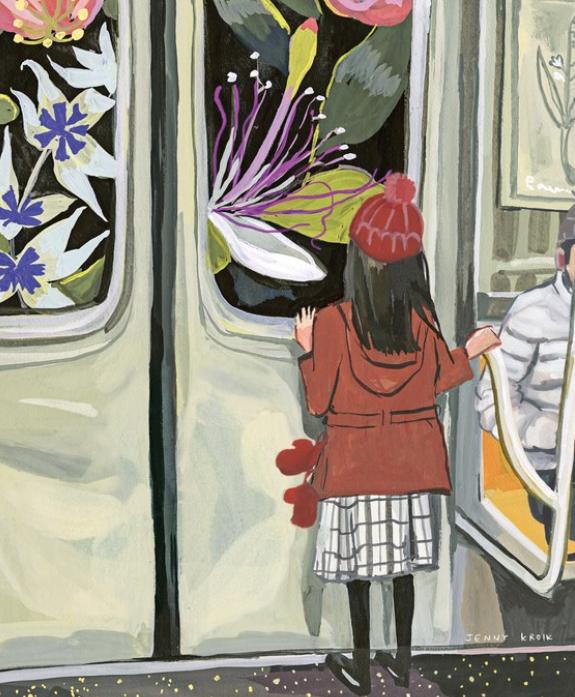 """www.newyorker.com  """"Next Stop: Spring,"""" by Jenny Kroik"""