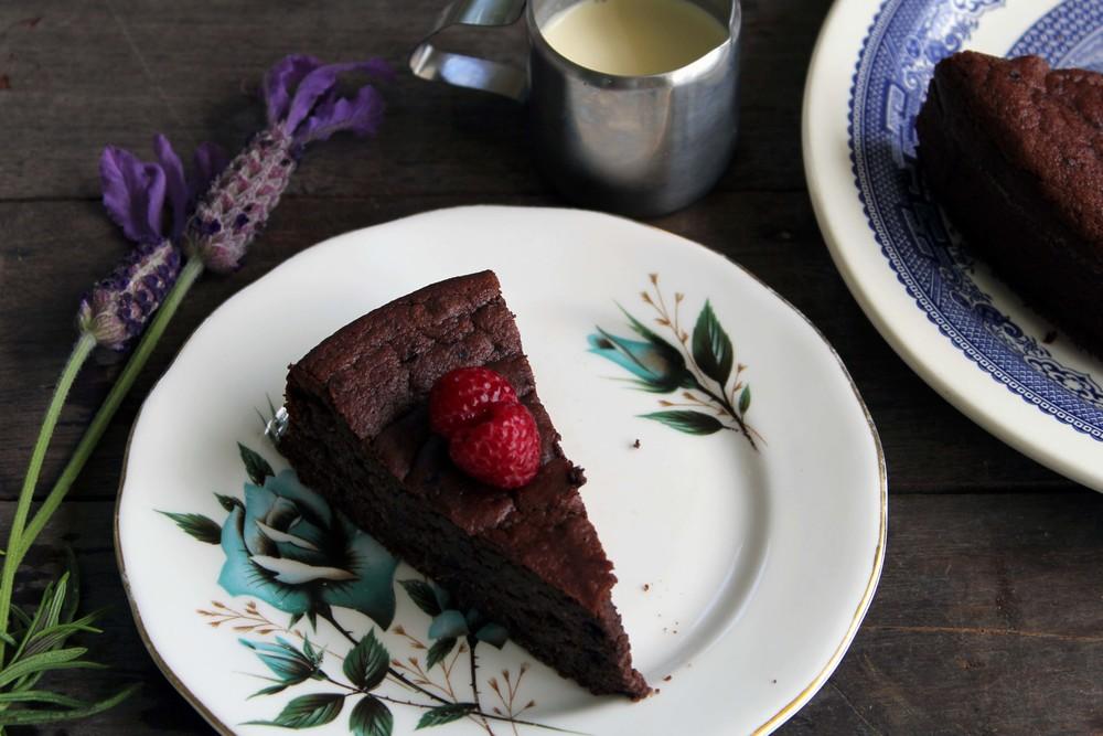 Flourless Raspberry Amp Chocolate Birthday Cake Kelly Gibney