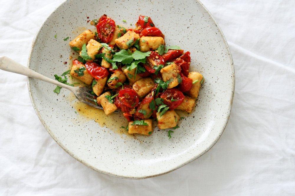 BLOG_chickpea gnocchi roasted tomato chilli coriander2.jpg