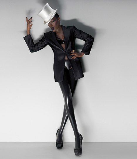 a portrait of Grace Jones. Source:  The Stool Pidgeon