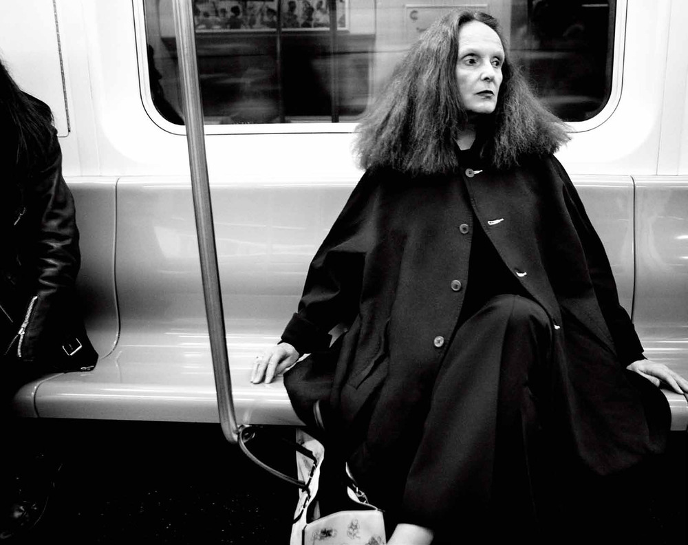 Grace Coddington by   Craig McDean