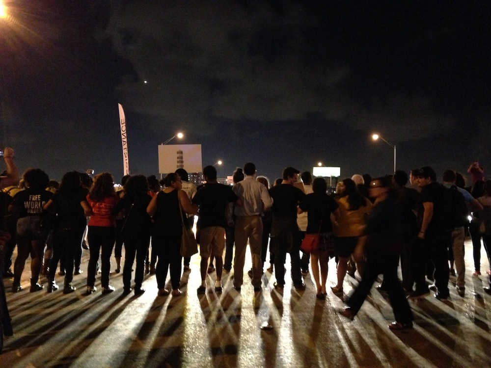 Hyperallergic: Hundreds Take to the Streets to Seek Justice for Artist Killed by Miami Police