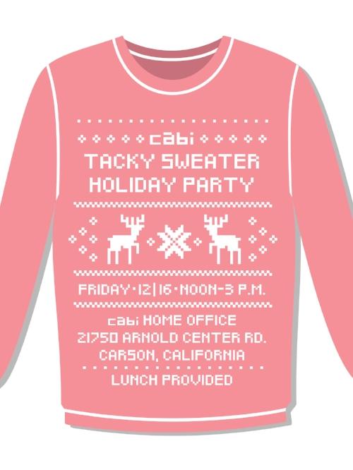 Cabi brandy blonde bangs – Cabi Party Invitation