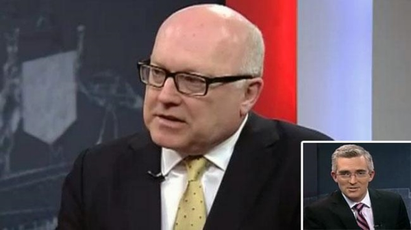 George Brandis will be played by 17th Century Amish founder Jakob Amman while a 1kg value block of cheese will stand in for David Speers.