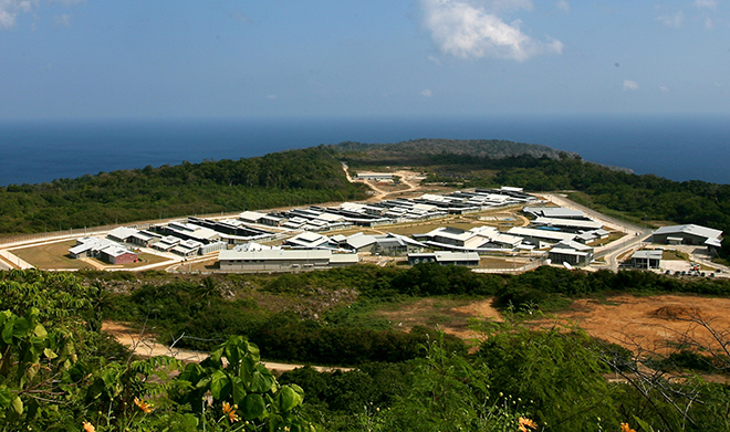 Christmas Island Detention Centre. Image via Wikicommons.