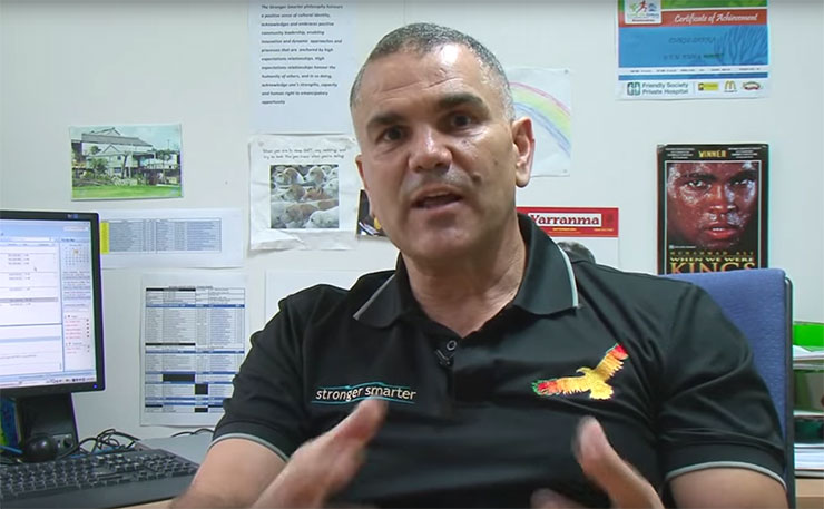 Renowned Aboriginal educator, Dr Chris Sarra from the Stronger Smarter Institute