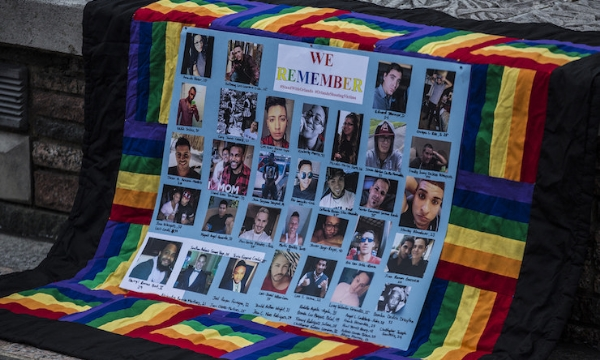 A memorial for those killed at Pulse nightclub. (Image: Governor Tom Wolf).