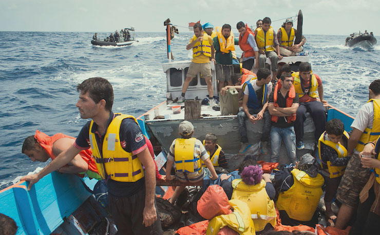 Asylum seekers, as captured in the documentary film 'Chasing Asylum'.